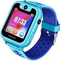 Умные часы детские Smart Baby Watch HT15 (голубой) -