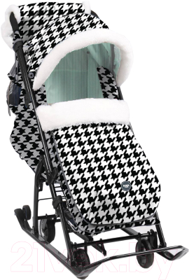 Санки-коляска Ника Детям 7-5 New