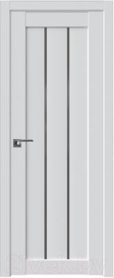 Дверь межкомнатная ProfilDoors Модерн 49U 60x200 (аляска/стекло графит)