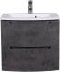 Тумба с умывальником Аква Родос HeadWay 60 / ОР0002812 (темный мрамор, подвесная) -