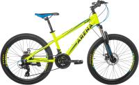 Велосипед Arena Flash 2020 / 24MT18AH01 (13, желтый) -