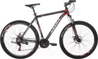 Велосипед Arena Baxter 2020 / 29MT18AM13 (черный/красный) -