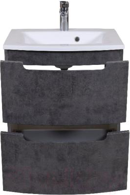 Тумба под умывальник Аква Родос HeadWay 70 / ОР0002498 (темный мрамор, подвесная)