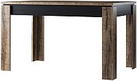 Обеденный стол Anrex Jagger (дуб монастырский/черный) -