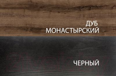 Полка Anrex Jagger 1DN (дуб монастырский/черный)