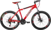 Велосипед Arena Night Ghost 2020 / 26MT18SM11 (18, красный) -