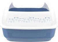 Туалет-лоток Trixie Delio 40391 (голубой/белый) -