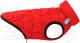 Куртка для животных AiryVest UNI 2519 (S, красный/черный) -