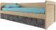 Кровать-тахта Anrex Diesel 90-2/D3 (дуб мадура/истамбул) -