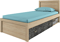 Односпальная кровать Anrex Diesel 90/D3 (дуб мадура/истамбул) -