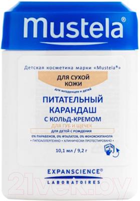 Крем детский Mustela Питательный карандаш с кольд-кремом (10.1мл)