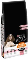 Корм для собак Pro Plan Adult 7+ Medium & Large Sensitive Skin с лососем (14кг) -