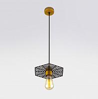 Потолочный светильник Евросвет Creto 50167/1 (бронза/черный) -