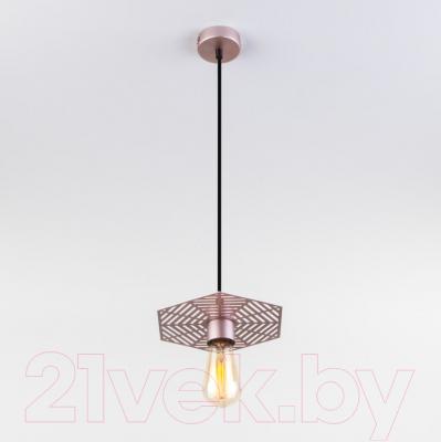 Потолочный светильник Евросвет Creto 50167/1 (перламутровое золото)
