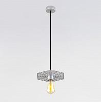 Потолочный светильник Евросвет Creto 50167/1 (серебристый) -