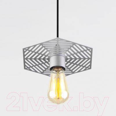 Потолочный светильник Евросвет Creto 50167/1 (серебристый)