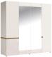 Шкаф Anrex Linate 4D/Typ 23A (белый/сонома трюфель) -
