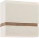 Шкаф навесной Anrex Linate 1D/Typ 66 (белый/сонома трюфель) -