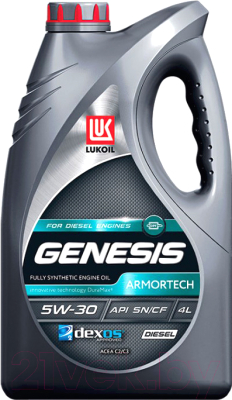Моторное масло Лукойл Genesis Armortech Diesel 5W30 / 3149855