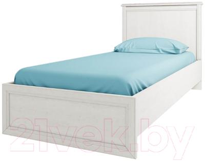 Односпальная кровать Anrex Monako 90 (сосна винтаж/дуб анкона)