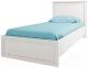 Односпальная кровать Anrex Monako 90 (сосна винтаж/дуб анкона) -