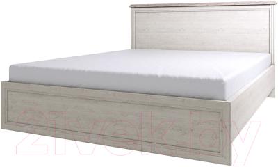 Двуспальная кровать Anrex Monako 160 (сосна винтаж/дуб анкона)