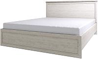Двуспальная кровать Anrex Monako 160 с ПМ (сосна винтаж/дуб анкона) -