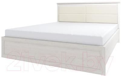 Двуспальная кровать Anrex Monako 160 M (сосна винтаж/дуб анкона)