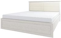 Двуспальная кровать Anrex Monako 160 M с ПМ (сосна винтаж/дуб анкона) -