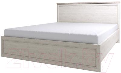 Двуспальная кровать Anrex Monako 180 (сосна винтаж/дуб анкона)