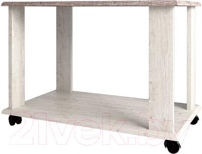 Журнальный столик Anrex Monako L (сосна винтаж/дуб анкона)
