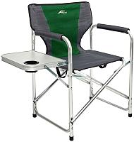 Кресло складное Trek Planet Chester Alu / 70641 (зеленый/серый) -