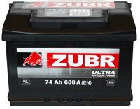Автомобильный аккумулятор Zubr Ultra New L+ (74 А/ч) -