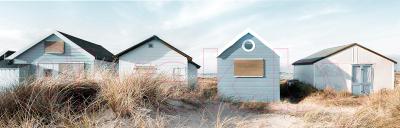 Картина Orlix Пляжные домики / CA-12512