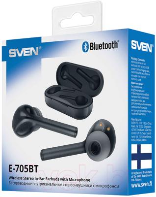 Беспроводные наушники Sven E-705BT (черный)