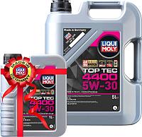 Моторное масло Liqui Moly Top Тес 4400 5W30 / 2322+2319 (5л+1л) -