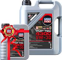 Моторное масло Liqui Moly Top Тес 4300 5W30 / 2324+2323 (5л+1л) -
