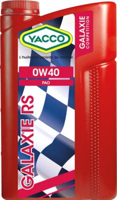 Моторное масло Yacco Galaxie RS 0W40 (1л)