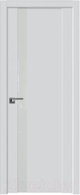 Дверь межкомнатная ProfilDoors Модерн 62U 90x200 (аляска/стекло Lacobel белый лак)