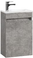 Тумба под умывальник Belux Мини НП 40 (31, бетон чикаго/светло-серый) -