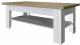 Журнальный столик Anrex Provence (вудлайн кремовый/дуб каньон) -