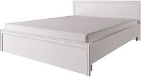 Двуспальная кровать Anrex Taylor 160 с ПМ (белый) -