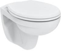 Унитаз подвесной Ideal Standard Eurovit Rimless K881201 (с крышкой soft-close) -