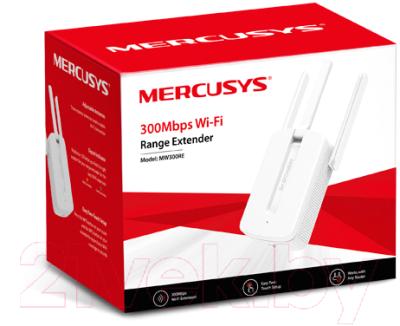 Усилитель беспроводного сигнала Mercusys MW300RE
