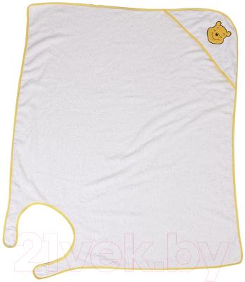 Полотенце-фартук Polini Kids Disney baby Медвежонок Винни Чудесный день с вышивкой (желтый)