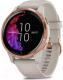 Умные часы Garmin Venu / 010-02173-23 (розовое золото/серый) -