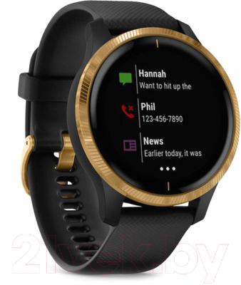 Умные часы Garmin Venu / 010-02173-33 (золото/черный)