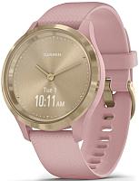 Умные часы Garmin Vivomove 3s / 010-02238-21 (золото/розовый) -