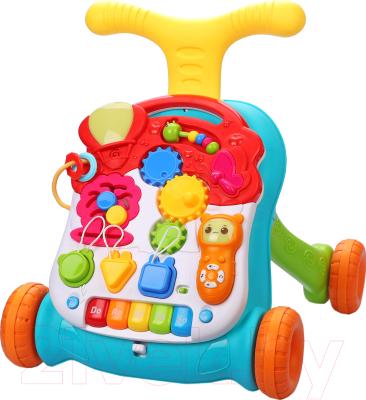 каталка happy baby racer green Ходунки-каталка Happy Baby Sprinter / 331241