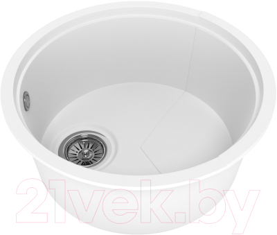 Мойка кухонная KitKraken Duo Lake O-510.2B (белый)